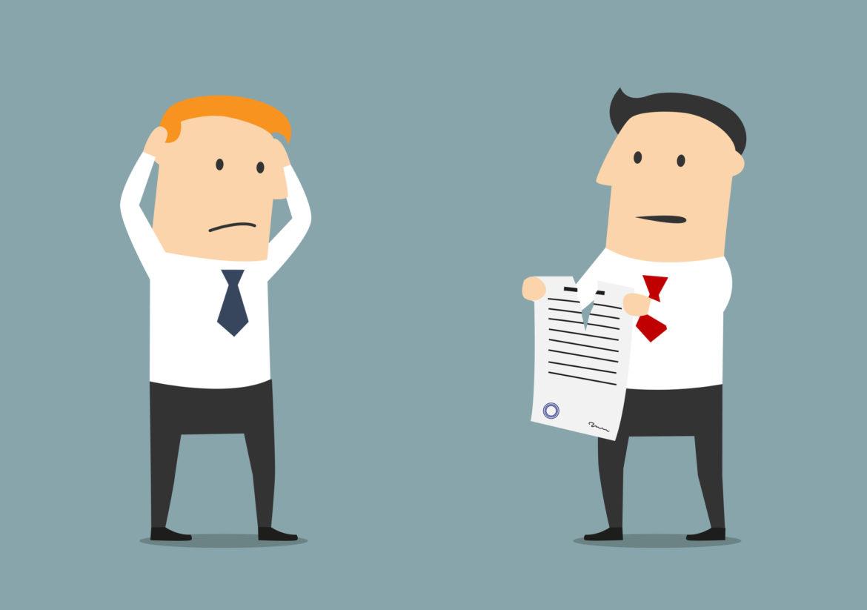 Как расторгнуть договор с юридической фирмой